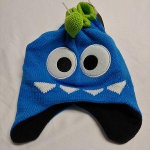 Other - Little Monster Hat & Mitten Set - NWT Toddler
